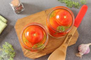 Маринованные помидоры с луком и чесноком на зиму - фото шаг 4