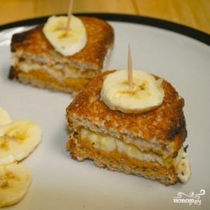 Сэндвичи с арахисовым маслом и бананами - фото шаг 6