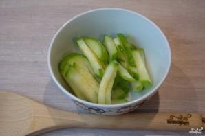 Рисовая лапша с овощами - фото шаг 2