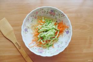 Китайский салат с крахмальной лапшой - фото шаг 4