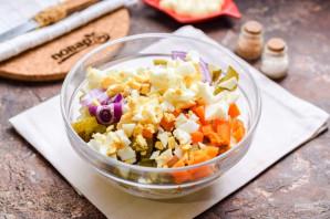 Мясной салат на Новый год - фото шаг 6