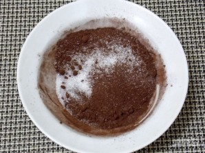 "Пирог ""Пористый шоколад"" - фото шаг 3"