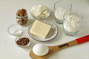 Пирог с творогом и орехами - фото шаг 1