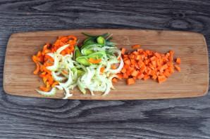 Суп с фрикадельками и кабачком - фото шаг 4