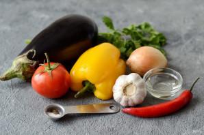 Салат с баклажанами по-армянски - фото шаг 1