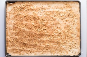 "Торт ""Сникерс"" с арахисом - фото шаг 10"
