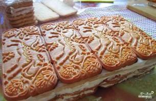 Торт из печенья - фото шаг 7