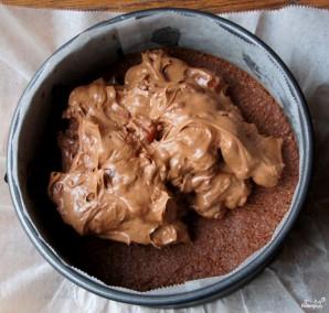 Шоколадный чизкейк с вишней - фото шаг 10