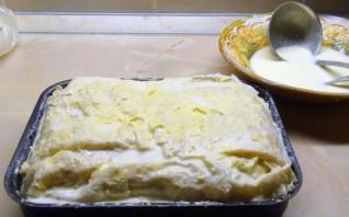 Ачма с сыром и творогом - фото шаг 5