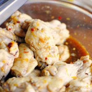 Закуска из куриных крылышек - фото шаг 8