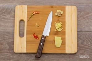 Куриный салат с грейпфрутом - фото шаг 3