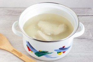 Куриный суп с сырными фрикадельками - фото шаг 2
