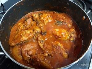 Пряный карри с курицей - фото шаг 6