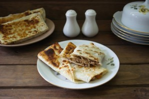 Пирожки из лаваша с мясом - фото шаг 6