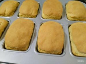 Кукурузный мини-хлеб с моцареллой - фото шаг 10