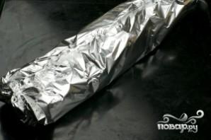 Батон с сыром и чесноком - фото шаг 7