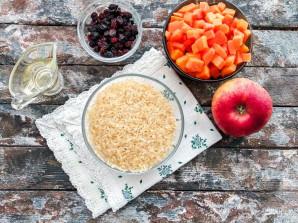 Рис с тыквой и яблоками - фото шаг 1