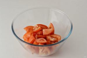 Салат с кориандром - фото шаг 2