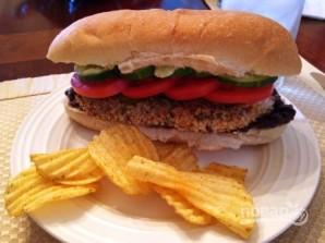 Сэндвичи с фасолевым пюре и куриным мясом - фото шаг 10