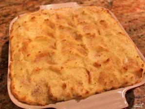 Пирог с моцареллой и ветчиной - фото шаг 9