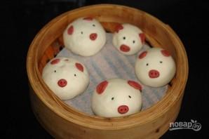Паровые булочки по-вьетнамски - фото шаг 9