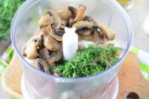 Чебуреки с мясом и грибами - фото шаг 11