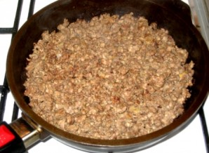 Блины с мясом и рисом - фото шаг 4