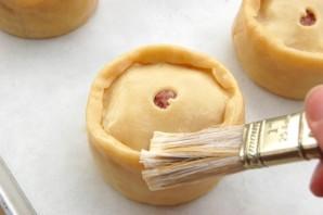 Пироги с мясом в духовке - фото шаг 8
