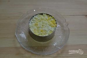 Салат с сардиной и сыром - фото шаг 9