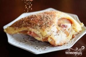 Равиоли с курицей и грецкими орехами - фото шаг 2
