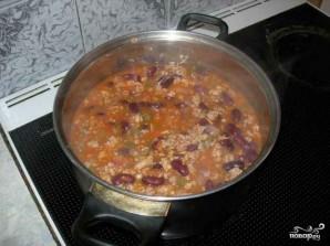Суп чили с фасолью - фото шаг 8