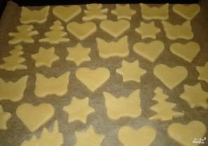 Песочное медовое печенье - фото шаг 4