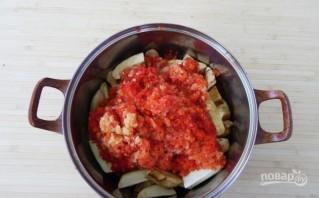 Салат с баклажанами (заготовки на зиму) - фото шаг 5