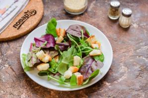 Салат с балыком - фото шаг 2