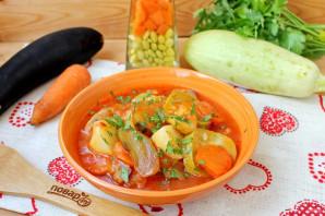 Соте из баклажанов и картофеля - фото шаг 10
