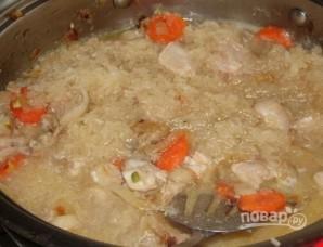 Курица с рисом в горшочке - фото шаг 6