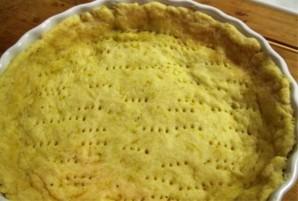 Пирог с рукколой, семгой и сыром - фото шаг 1