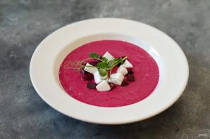 Свекольный крем-суп с фетой - фото шаг 6