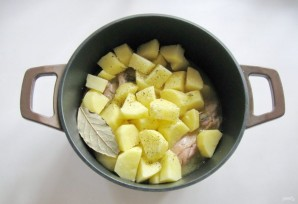 Курица с картофелем в сметане - фото шаг 6