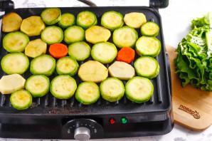 Овощи на электрогриле - фото шаг 5