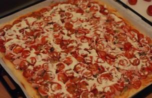 Пицца из дрожжевого теста - фото шаг 4