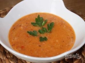 Суп из свинины с фасолью - фото шаг 9