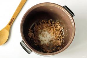 Пшеничная каша на молоке в мультиварке - фото шаг 3