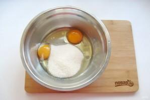 Медово-ореховый пирог на кефире - фото шаг 2