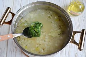 Суп со шпинатом и белой фасолью - фото шаг 6