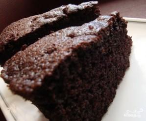 Шоколадный пирог на скорую руку - фото шаг 6