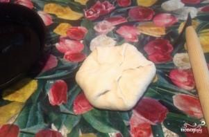 Хачапури с сыром простой - фото шаг 4