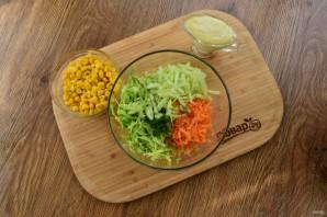 Легкий овощной салат на праздник - фото шаг 2