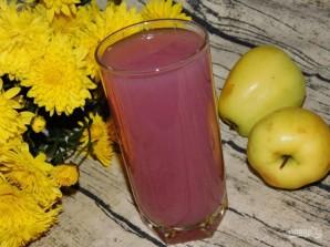 Кисель из яблок и черной смородины - фото шаг 5