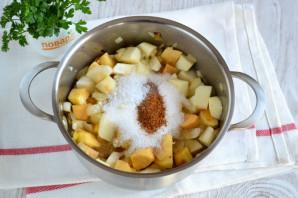 Яблочный соус к мясу - фото шаг 6